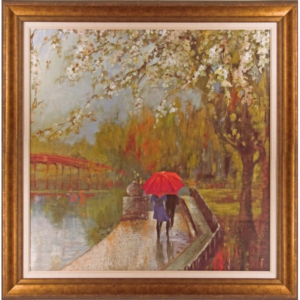 Aimée Wilson - A Walk In The Park Framed Print