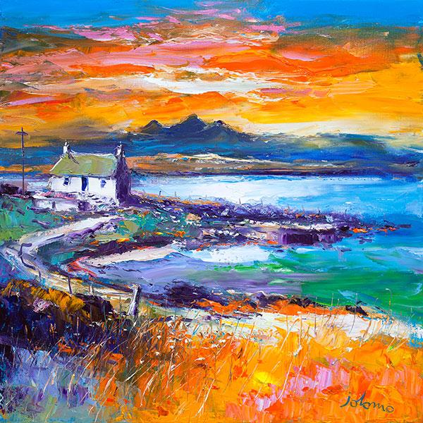 John Lowrie Morrison - A Jura Sunset from Port Nan Gallan, Keills