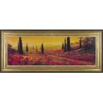 A.Fronckowiak - Toscano Panel I Framed Print