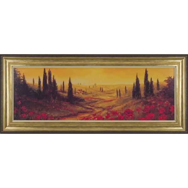 A.Fronckowiak - Toscano Panel II Framed Print