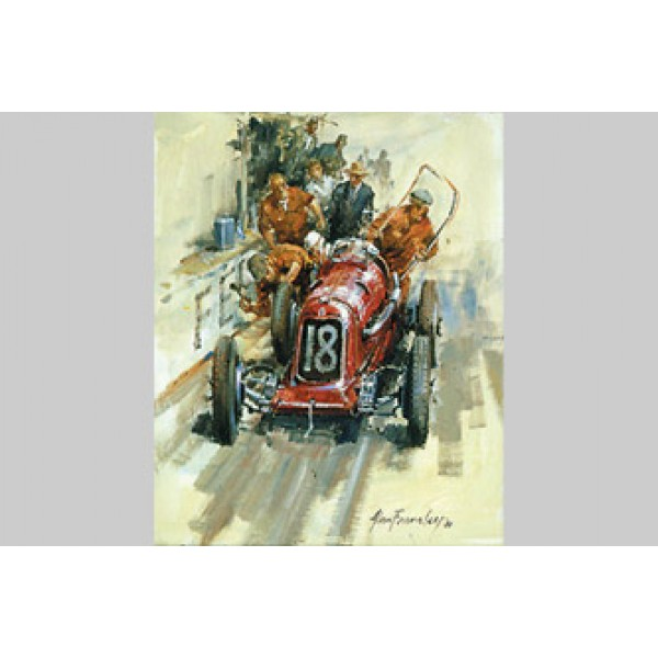 Alan Fearnley - Maserati 8cm