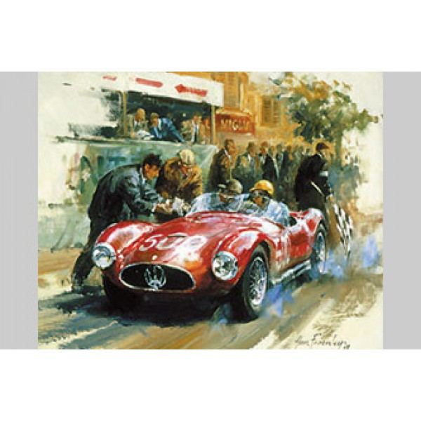 Alan Fearnley - Maserati A6GCS