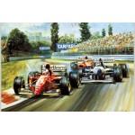 Alan Fearnley - Alesi Ferrari 105