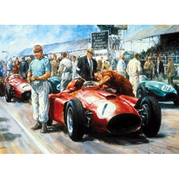 Alan Fearnley - Fangio 1956 World Champion