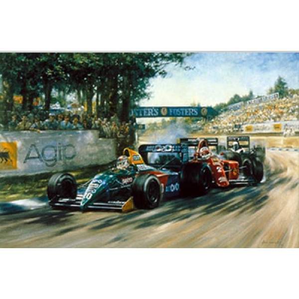 Alan Fearnley - Fighting Finish