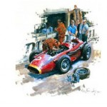 Alan Fearnley - Maserati 250F