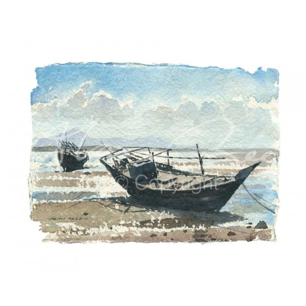 Alan Reed - Dhows, Sur No.2