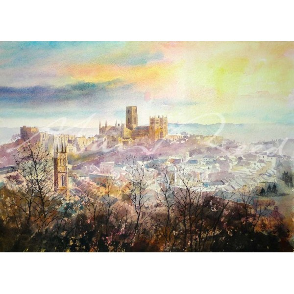 Alan Reed - Durham, Winter Light