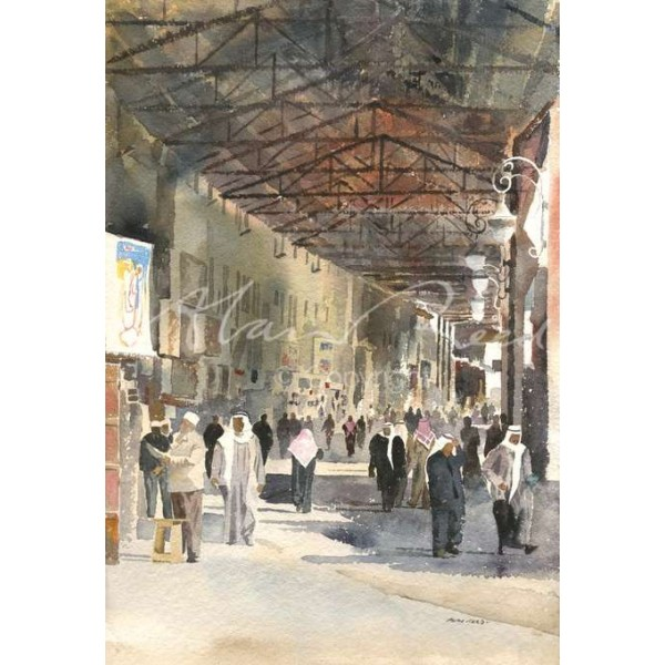 Alan Reed - Entrance to Mubarakiyya Souk, Kuwait