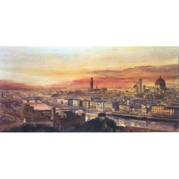 Alan Reed - Florence from Piazza Michelangelo