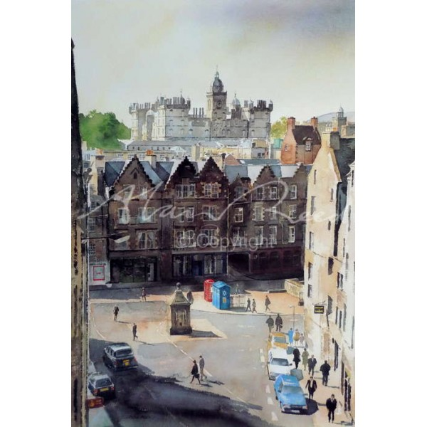 Alan Reed - George Heriots School from Victoria Street