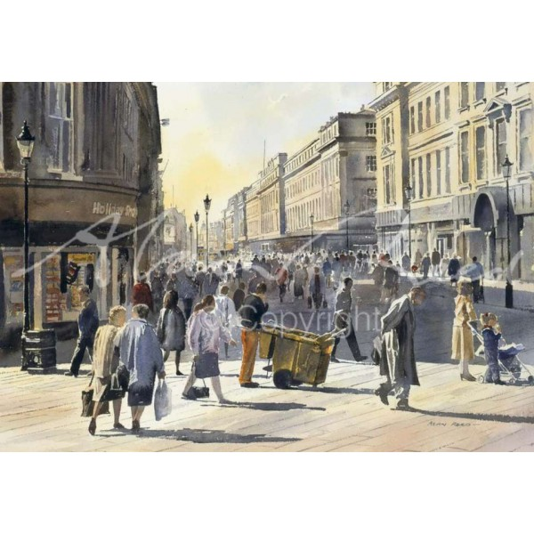 Alan Reed - Grainger Street, Newcastle