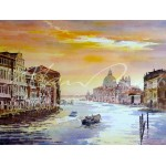 Alan Reed - Grand Canal, Morning Light, Venice
