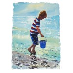 Alan Reed - Looking for Crabs - Blue Bucket