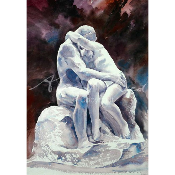 "Alan Reed - Rodin's ""The Kiss"""