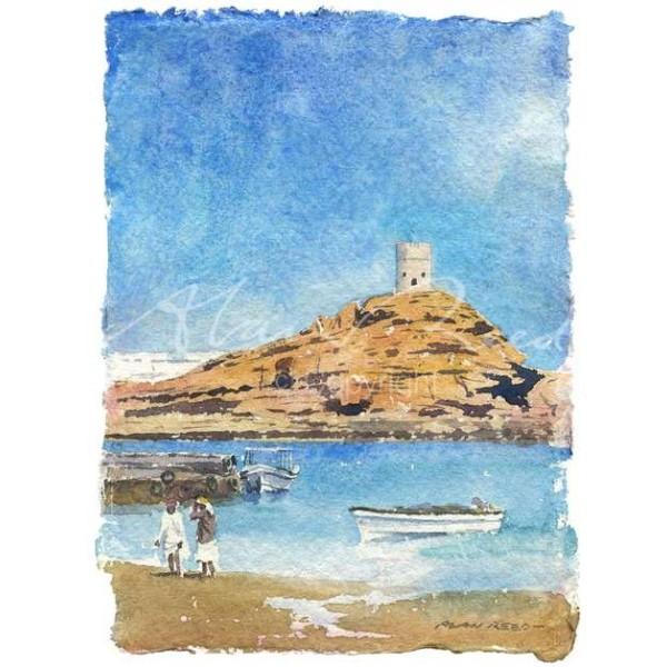 Alan Reed - Sur, Oman