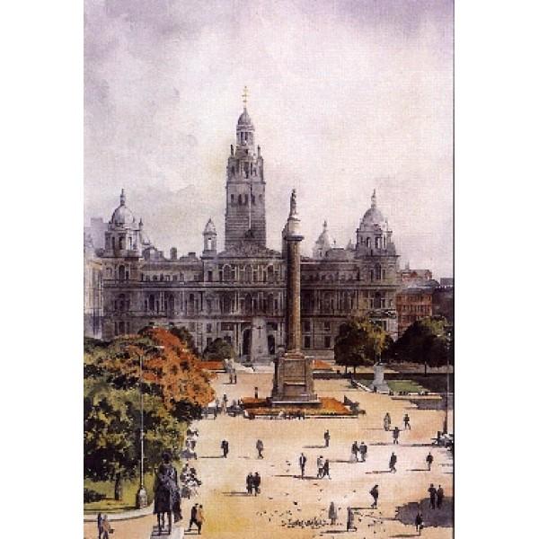 Alan Reed - George Square, Glasgow