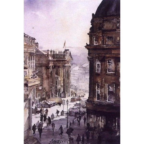 Alan Reed - Grey Street, Newcastle