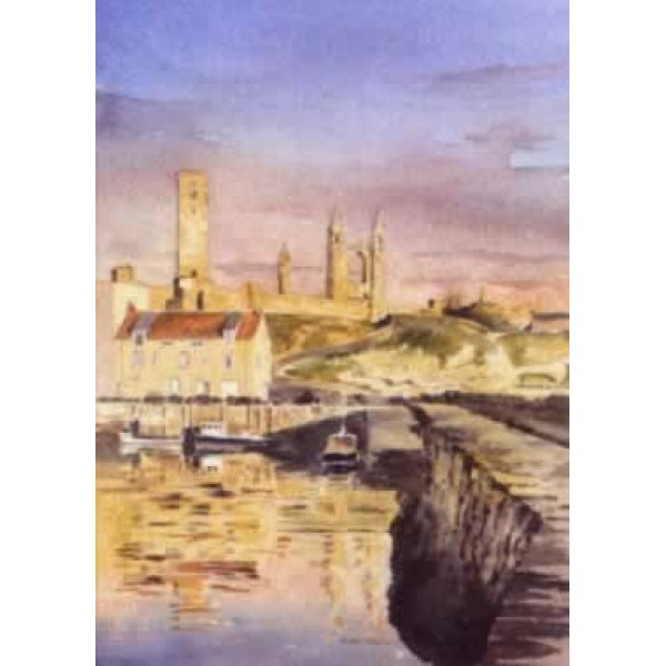 Alan Reed - St Andrews Harbour, Early Morning