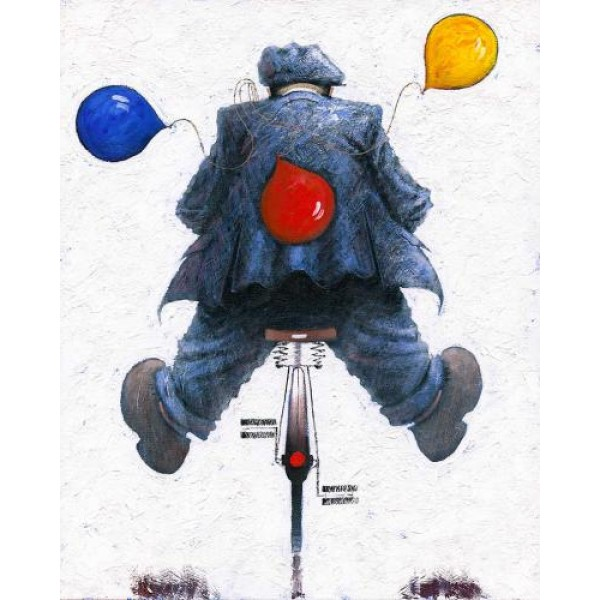 Alexander Millar - Happy Days (Large Canvas)