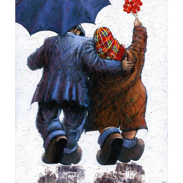 Alexander Millar - Say It With Flowers (Large Canvas)