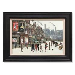Allen Tortice  - Pit Scene (Canvas)