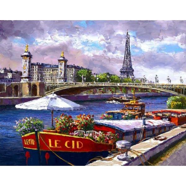 Sam Park - Along the Seine