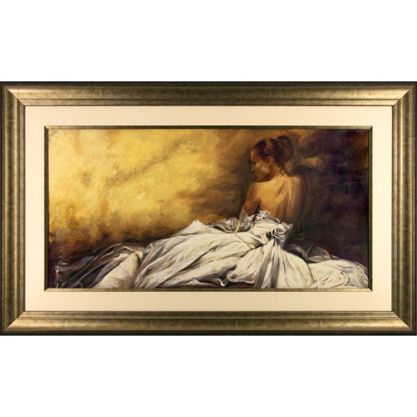 Andrea Bassetti - Eleganza in Bianco Framed