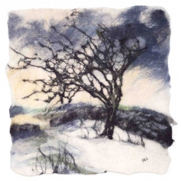 Andrea Hunter - Winter Hawthorn