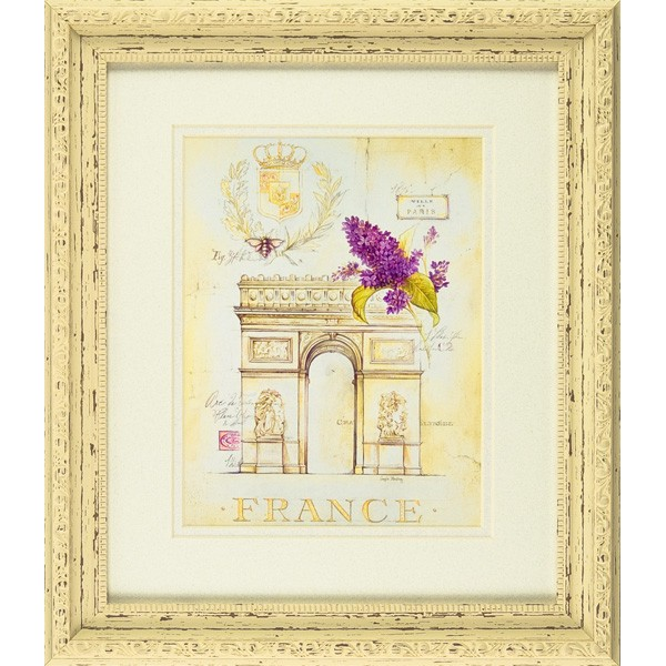 Angela Staehling - Paris In Bloom I Framed Print