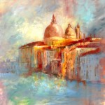 Anne Farrall Doyle - Grand Canal Sylvan Spires Venice