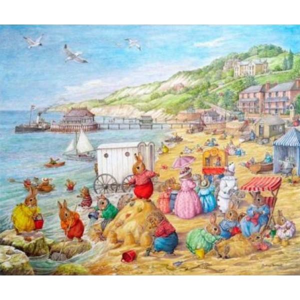 Audrey Tarrant - Bank Holiday on the Beach