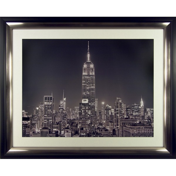 Aurelien Terrible - 5th Avenue Framed Print