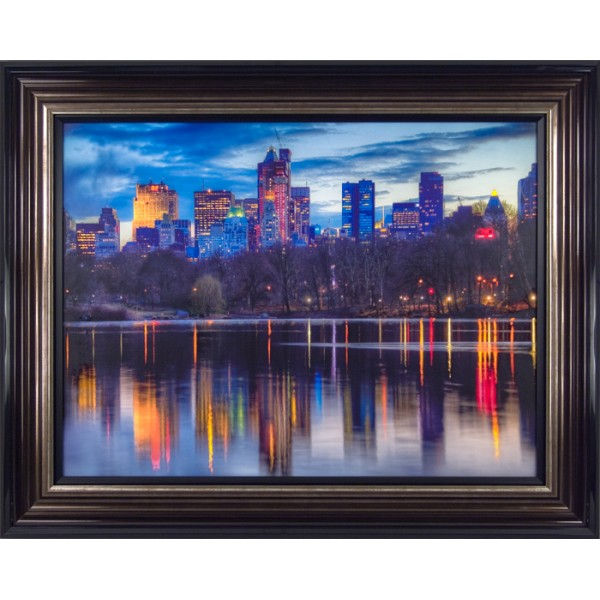 Aurelien Terrible - Reflections Framed Print