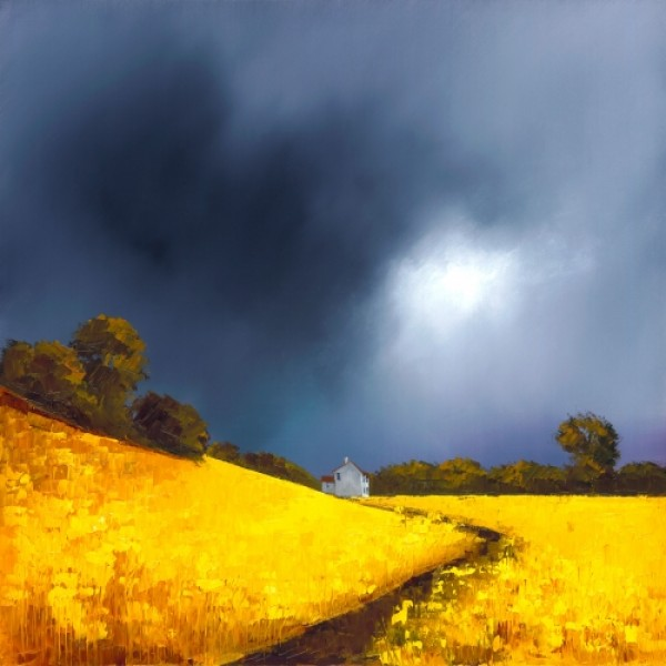Barry Hilton - Farmhouse Pathway
