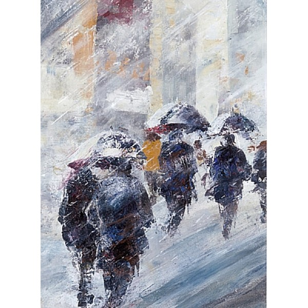 Bee Bartlett - Rainy morning off to work