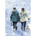 Bee Bartlett - Snow walk