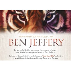 Ben Jeffery - New 'Into the Wild' Collection - Available Now