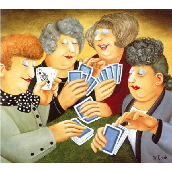Beryl Cook - A Full House - Low in Stock!