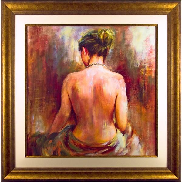 Bridges - Perle De Femme Framed Art Print