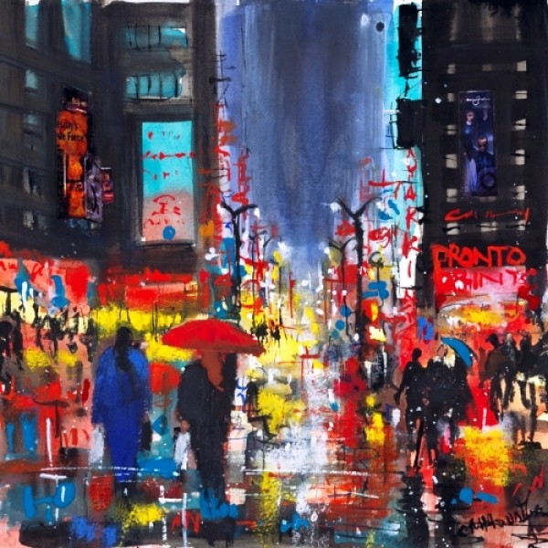 Carol Mountford - Rainy Manhattan
