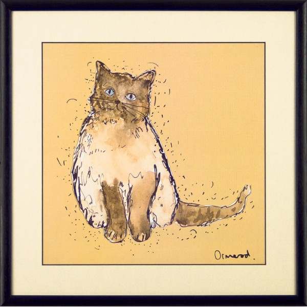Clare Ormerod - Patch and Friends IV Framed Print