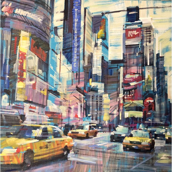 Colin Brown - Early Evening New York