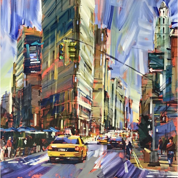 Colin Brown - Manhattan Mornings