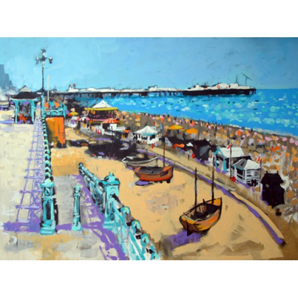 Colin Ruffell - Brighton Beach (Small)