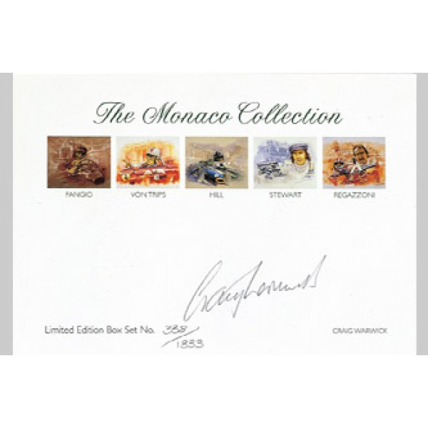 Craig Warwick - The Writing card set - The Monaco Collection
