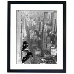 1,000 Feet Up Window Cleaners Cleaning Empire State Building, 1964 Framed Print