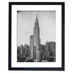 A fine view of the great Chrysler Building, New York 1930 Framed Print