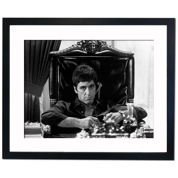 "Al Pacino ""Scarface"" 1983 Framed Print"