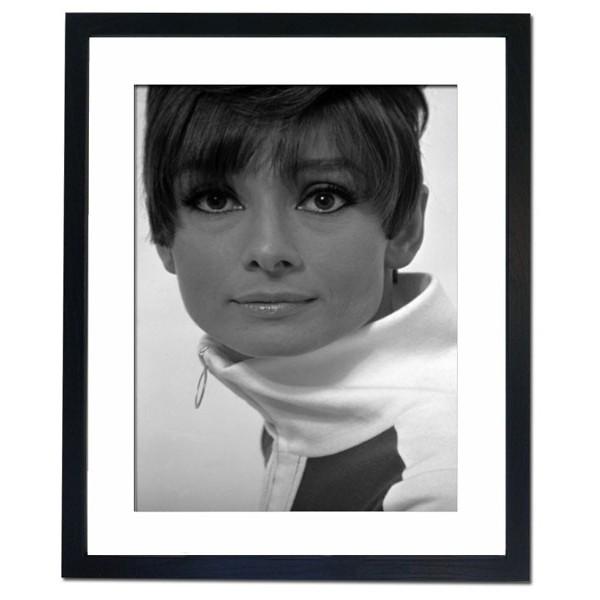 Audrey Hepburn, 1966 Framed Print